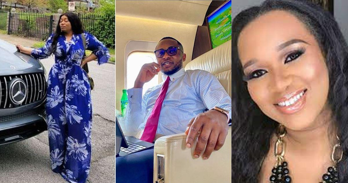 May you be barren forever - Sandra Iheuwa curses her baby daddy Ubi Franklin?s alleged girlfriend, Renee (video)