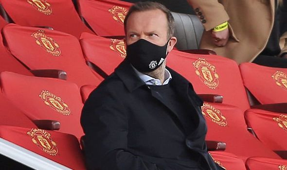 Manchester United confirm vice-chairman Ed Woodward
