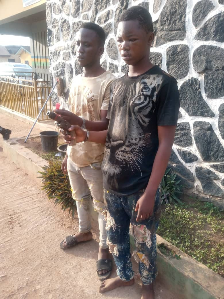 Two arrested for robbing rice merchant in Ogun