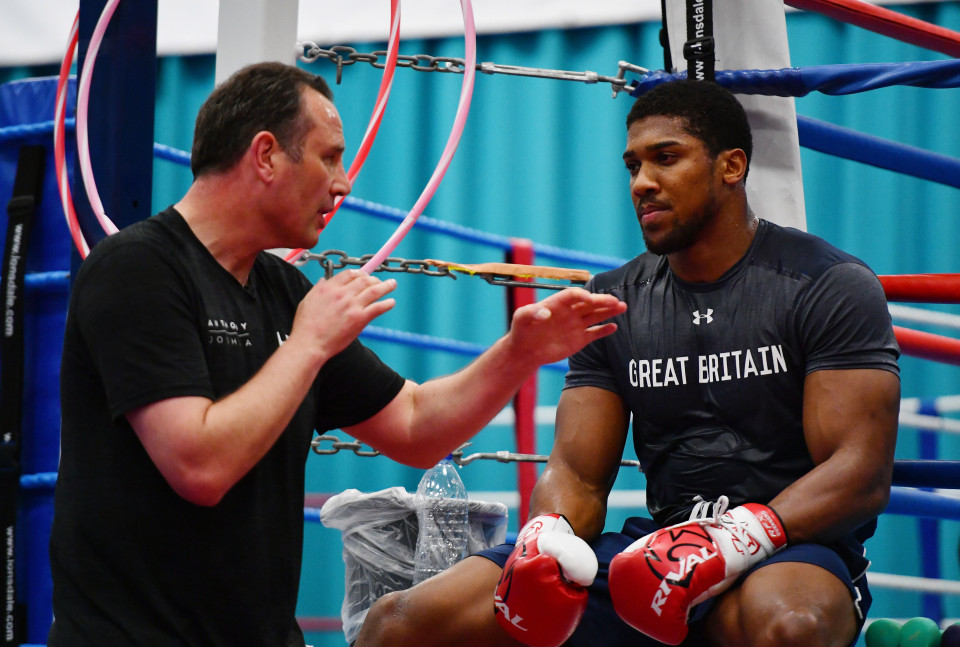 Anthony Joshua may fight Tyson Fyry without his long term trainer/mentor Rob McCracken, as July date in Saudi Arabia is set to be confirmed