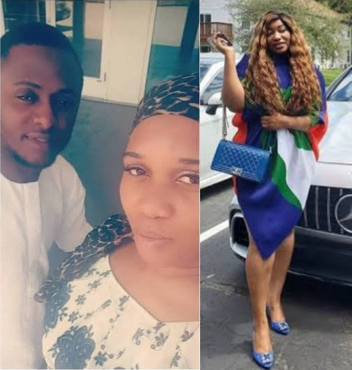 """""""We are 5 not 4"""" Sandra Iheuwa hints at Ubi Franklin having another baby mama as she and his alleged girlfriend, Renee, continue to call each other names"""