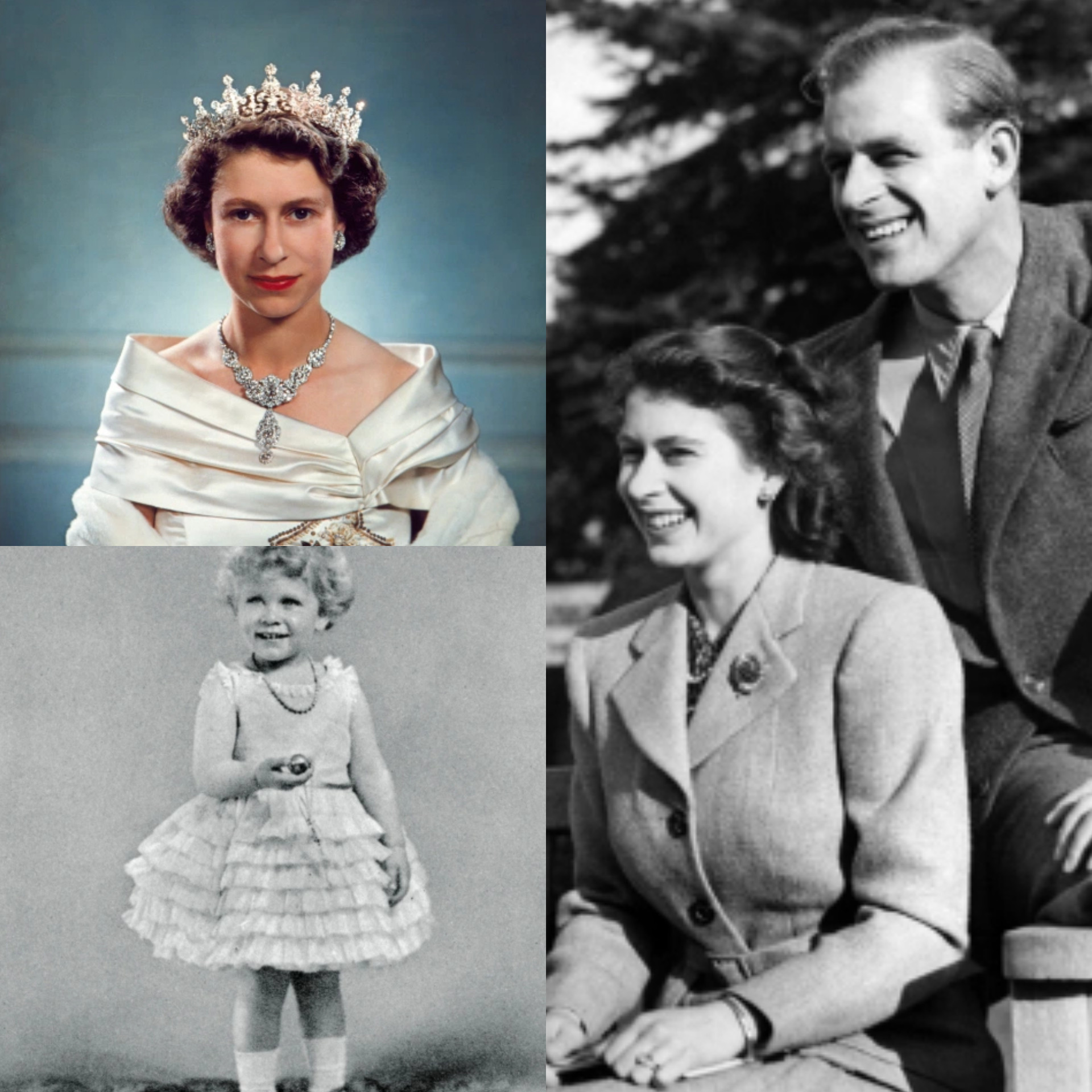 Historical photos of the life and times of Queen Elizabeth II as she turns 95 today