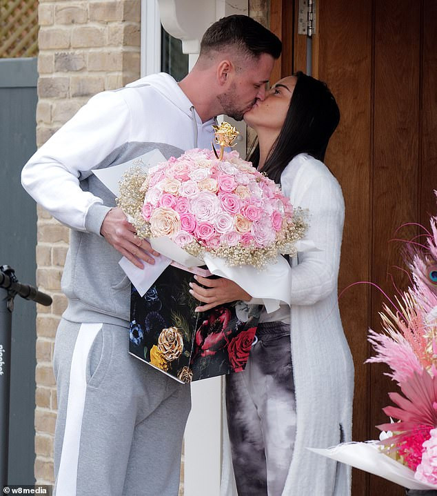 Katie Price, 42, gets engaged for the 8th time to boyfriend Carl Woods, 32, after 10 months relationship