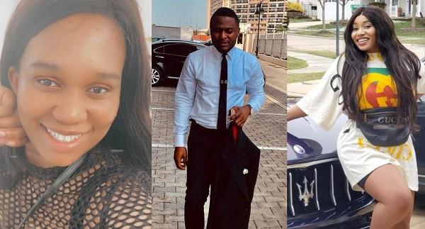 Ubi Franklin addresses fight between his fourth baby mama, Sandra Iheuwa and his alleged girlfriend Adesuwa Renee (video)
