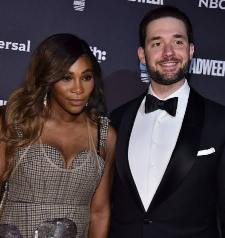 Reddit co founder, Alexis Ohanian reacts to being described as tennis player,