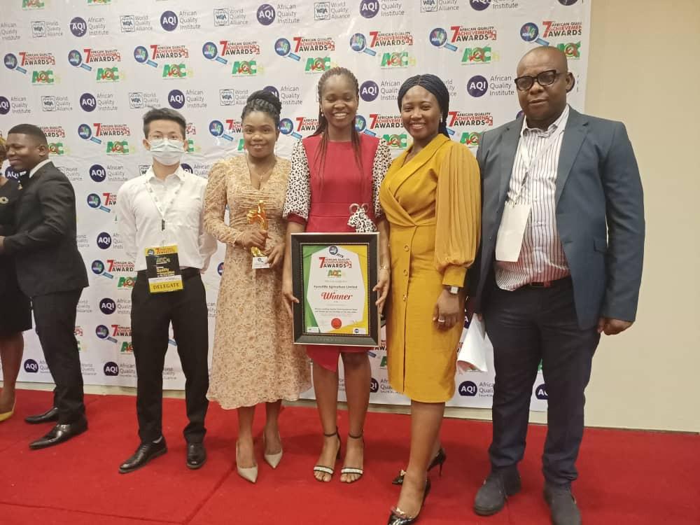Farm4Me awarded Africa