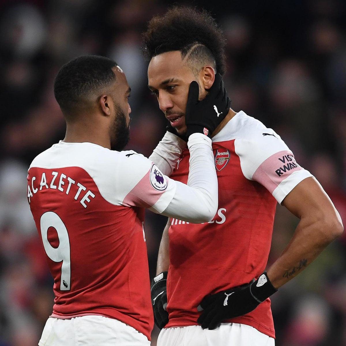 Arsenal superstars, Alexandre Lacazette and Pierre-Emerick Aubameyang out of Everton clash