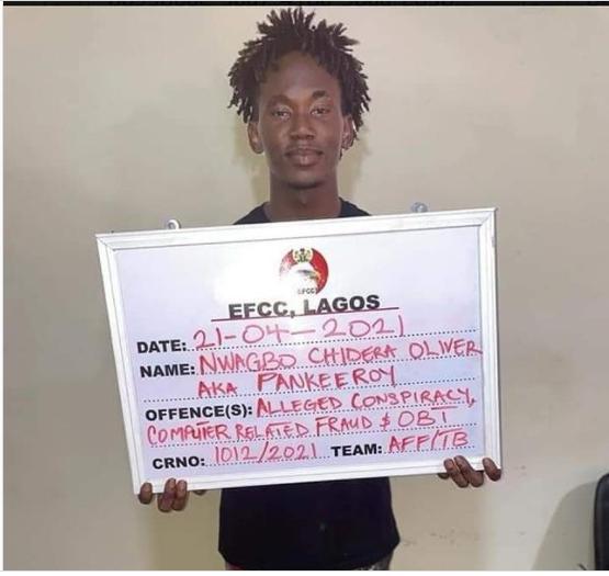 Instagram comedian, Pankeeroy arrested by EFCC for alleged Internet Fraud?