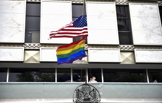 President Joe Biden tells U.S. Embassies to fly Gay Pride Flag on same pole as US flag, revoking Trump