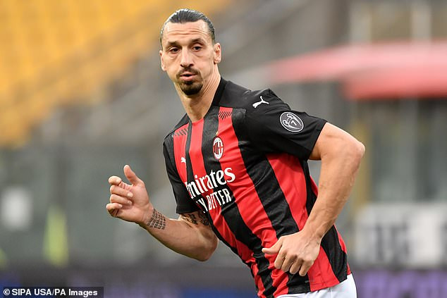 Zlatan Ibrahimovic, 39,  signs new one-year deal at AC Milan to ensure he continues playing beyond 40