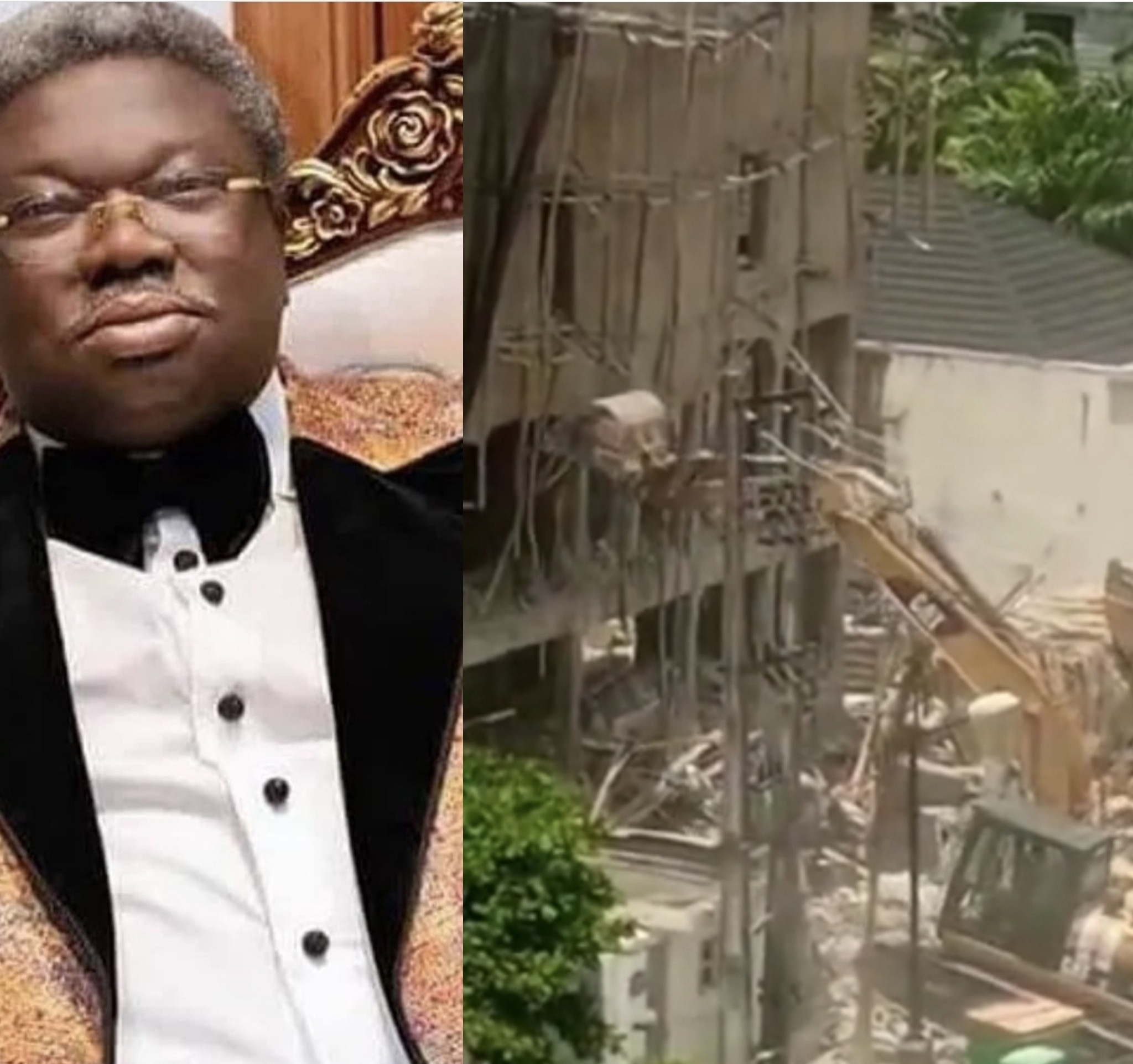Lagos State Government brings down Sir Olu Okeowo