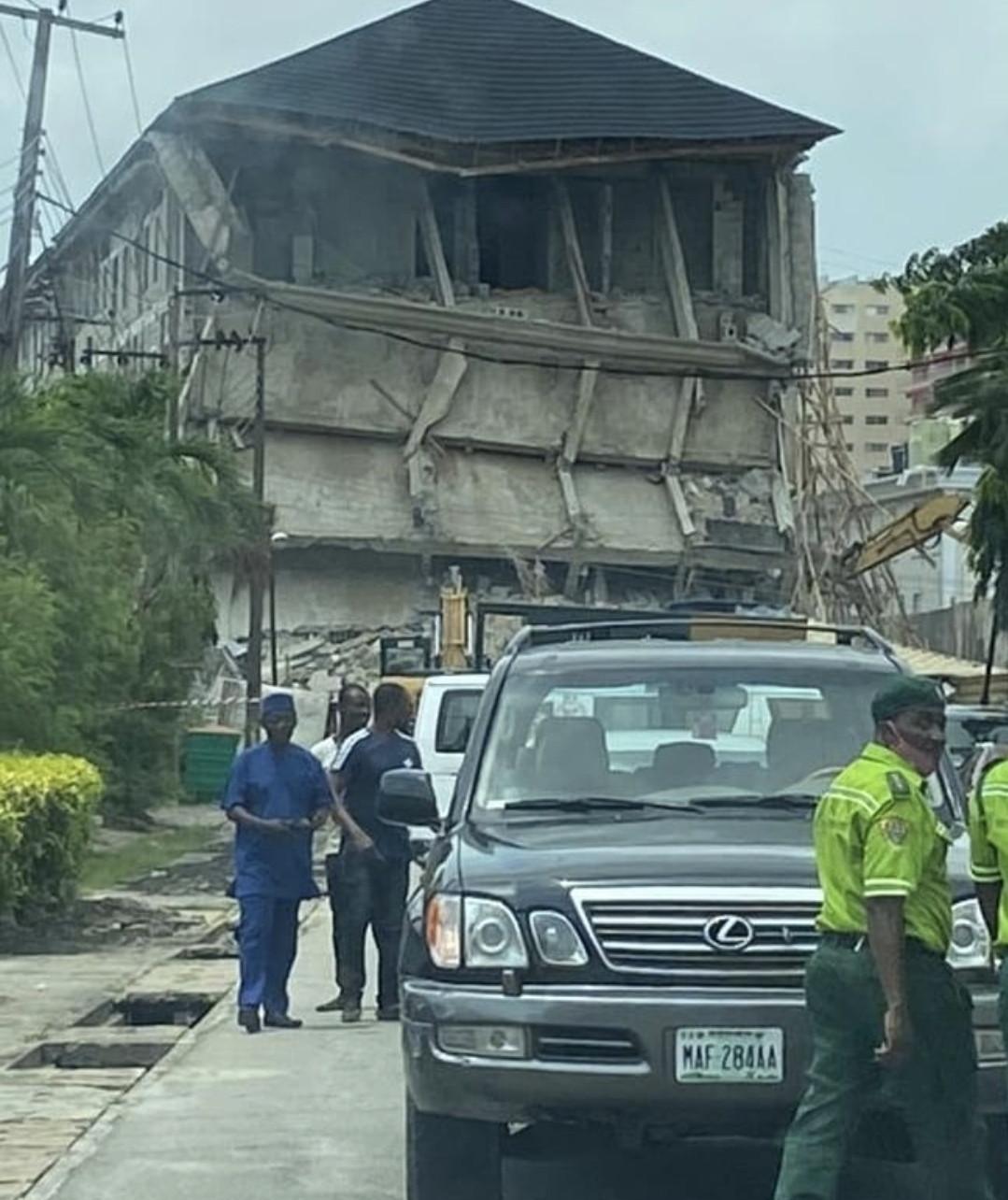Lagos State Government brings down Sir Olu Okeowo
