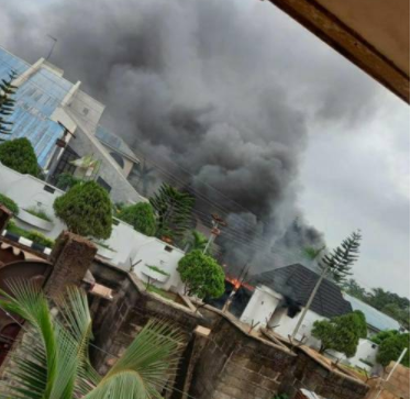 Gunmen raze Governor Hope Uzodinma?s country home, kill two of his security aides (videos)