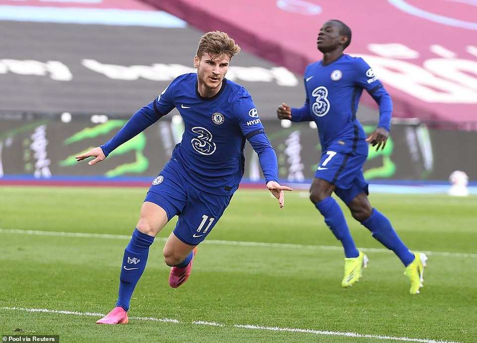 West Ham United 0-1 Chelsea: Timo Werner earns Blues vital win in race for top four