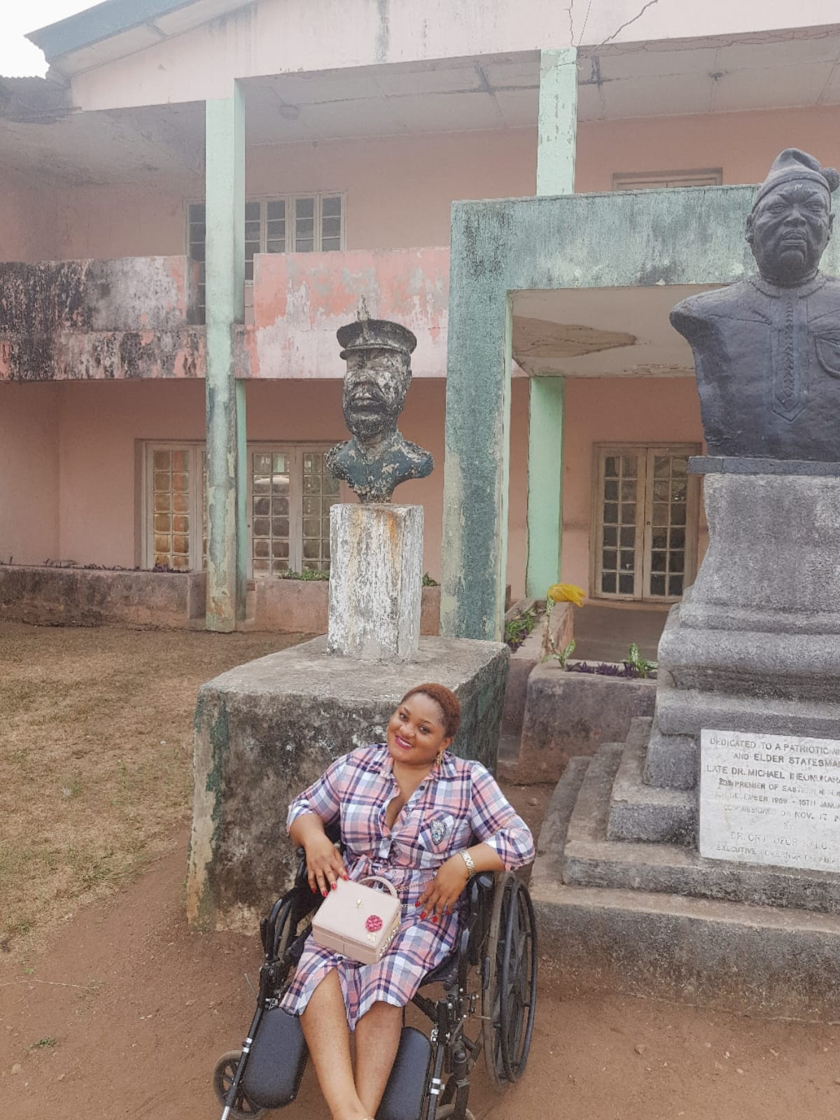 Physically challenged pharmacist Blessing Mary Ocheido is set t0 tie the knot