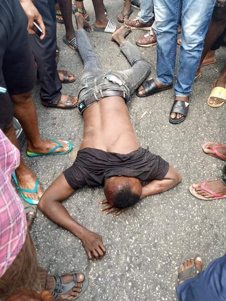 Suspected thief nabbed while attempting to steal car from church in Akwa Ibom