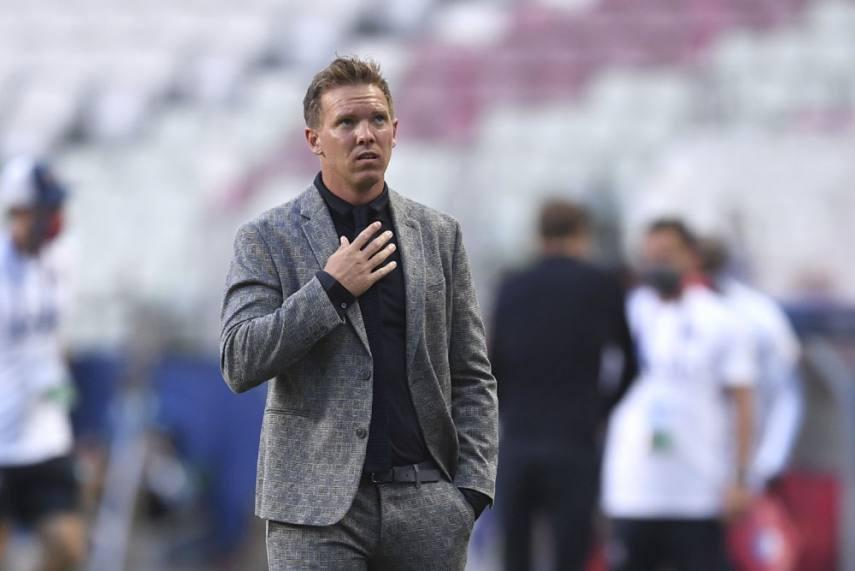 Leipzig manager, Julian Nagelsmann