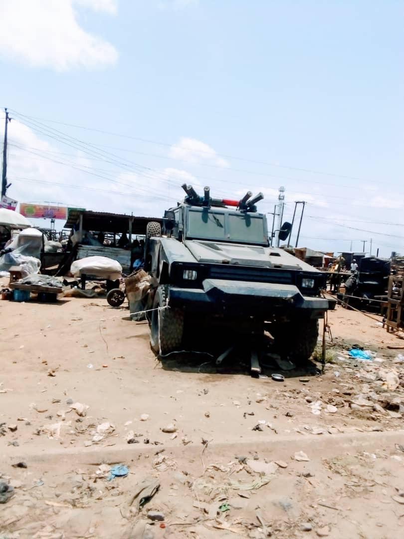 Okada riders fight: Lagos police restore normalcy at Iyana-Iba axis, debunks rumors of ethnic clash