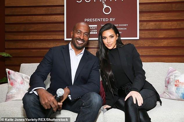 Kim Kardashian rumoured to be dating CNN presenter Van Jones