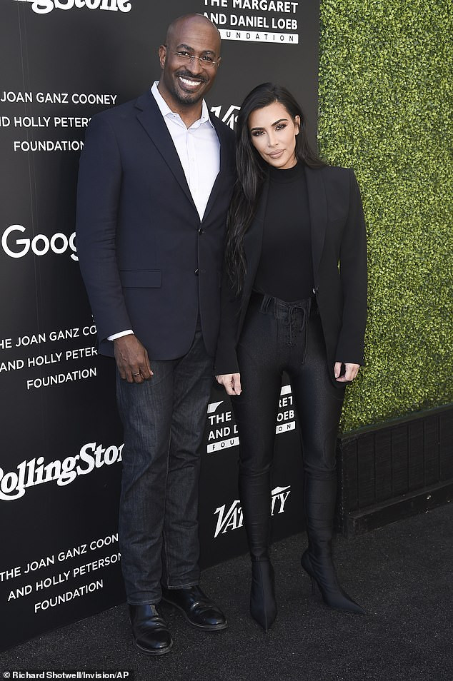 Kim Kardashian rumoured to be dating CNN presenter Van Jones