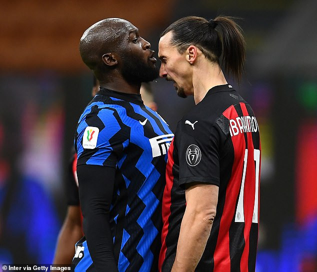 Zlatan Ibrahimovic and Romelu Lukaku fined for ?7,000 for