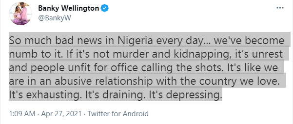 So much bad news in Nigeria every day, we