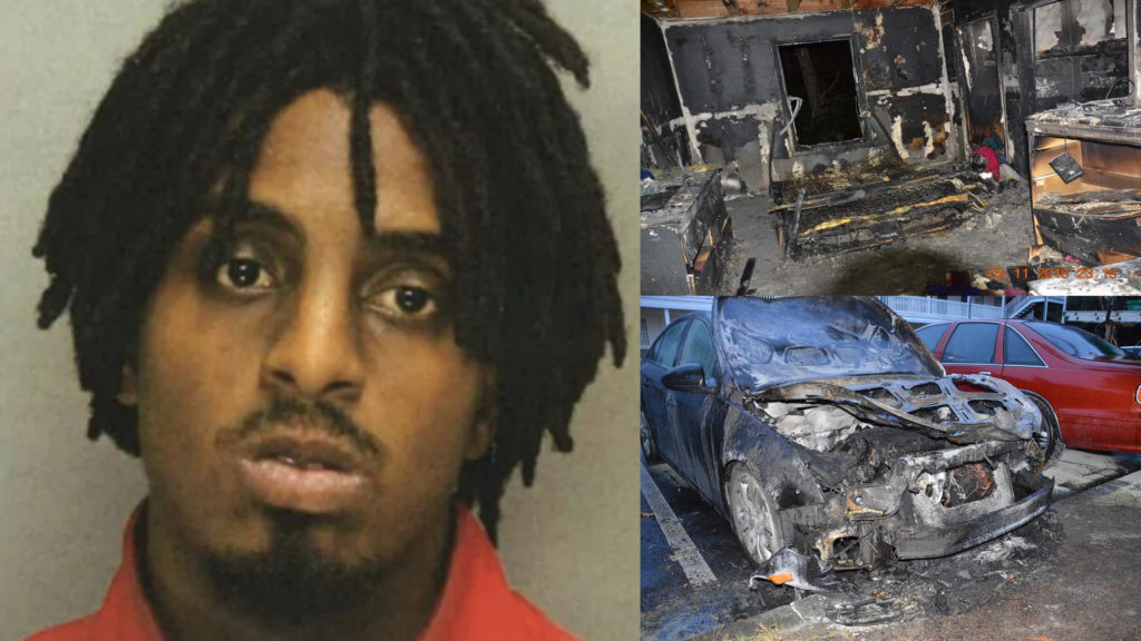 Man bags 20 years in prison for setting fire to car and home of woman who rejected his advances