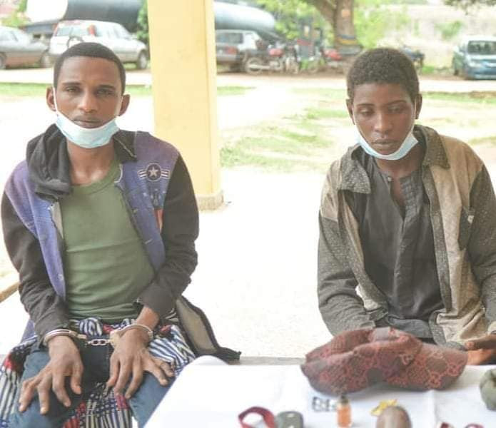 Police arrest three notorious armed robbers terrorizing travellers in Oyo
