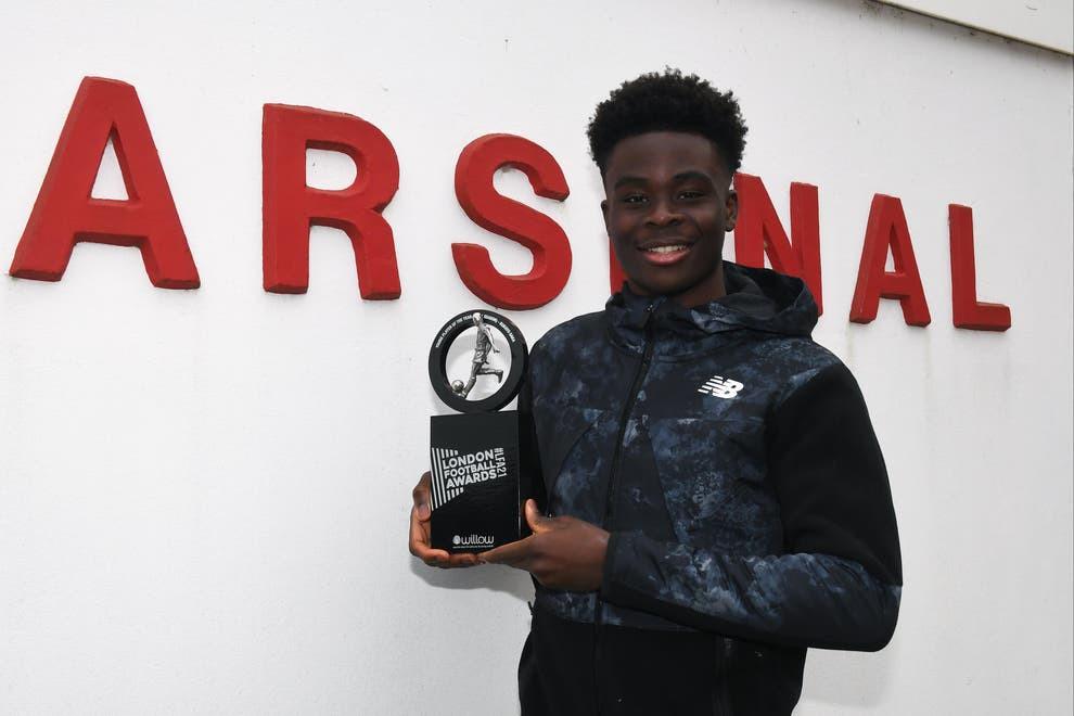 Arsenal winger, Bukayo Saka wins Young Player of the Year at 2021 London Football Awards?
