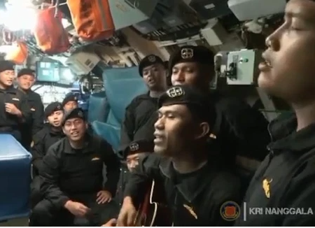 """Till we meet again"" Last video inside doomed submarine shows crew members singing goodbye song"