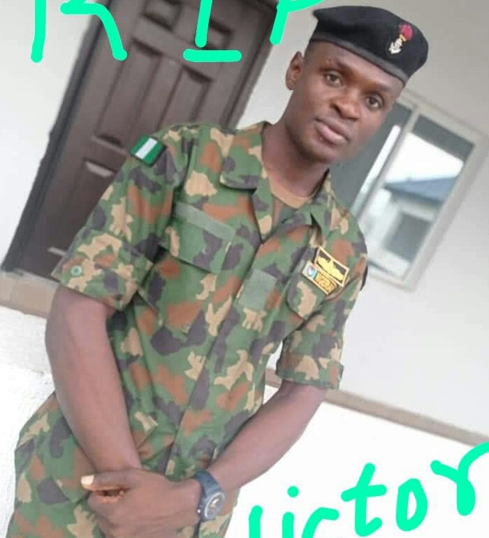 Man mourns soldier allegedly killed by unknown gunmen in Rivers state
