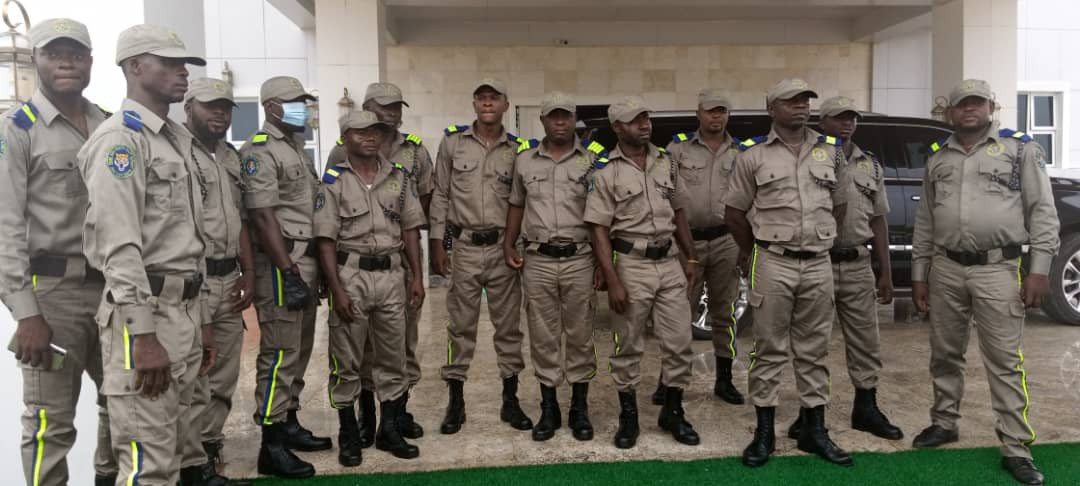 Men of the South East security unit, EBUBE AGU, step out in their uniforms (photos)