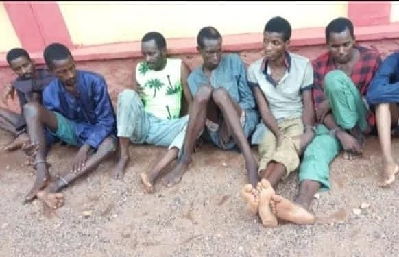 Police parade kidnappers of Ogun monarch, OOU students