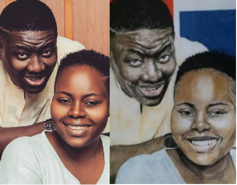 """""""I am not impressed with copy drawings"""" Pastor Leke Adeboye reacts to painting of him and his father"""