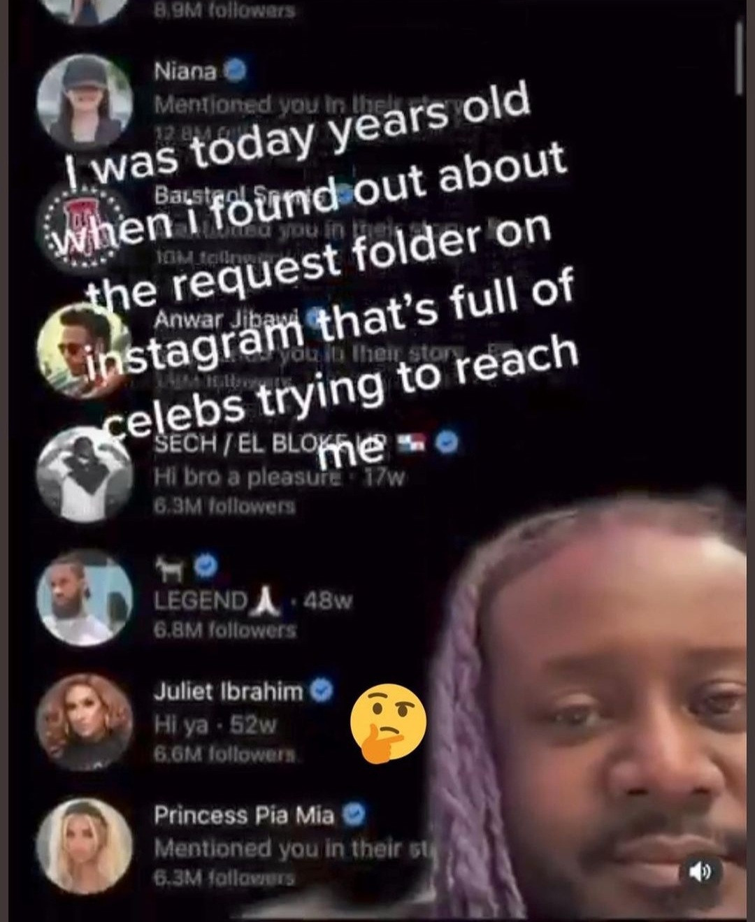 American rapper, T-Pain apologizes to DJ Cuppy, Juliet Ibrahim, Phyno, and other celebrities whose DMs he didnt see