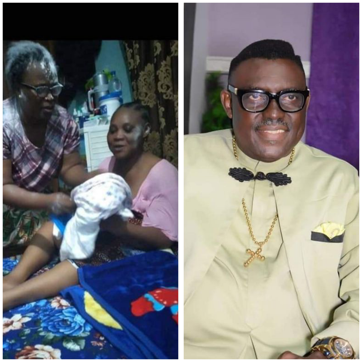 After 27 years of marriage, Nigerian Gospel artiste, Quincy Tebite Dtisio and his wife welcome a baby girl