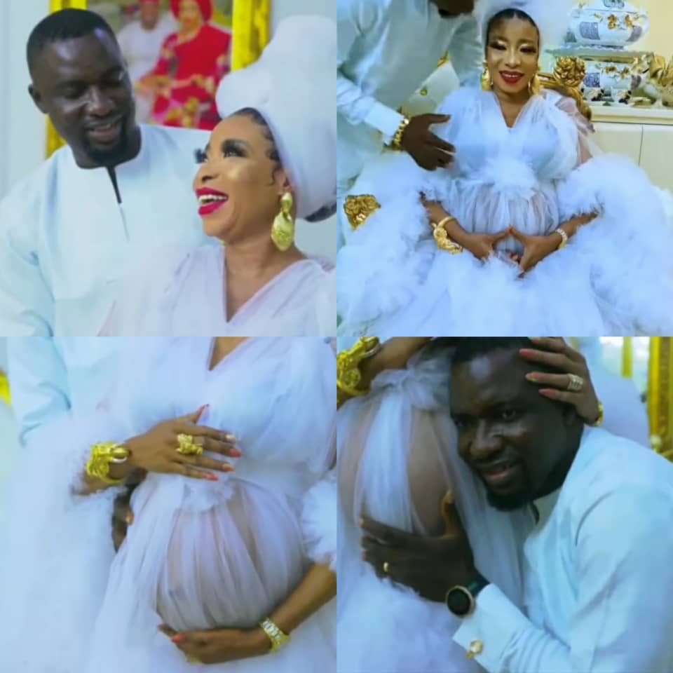 Actress Lizzy Anjorin and husband welcome their first child (photos and video)