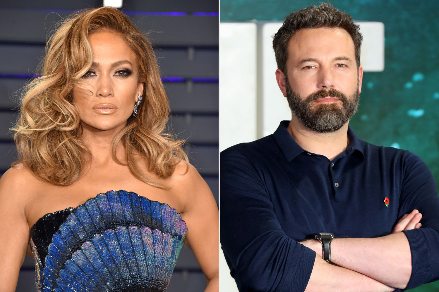 Jennifer Lopez and ex-Ben Affleck have been
