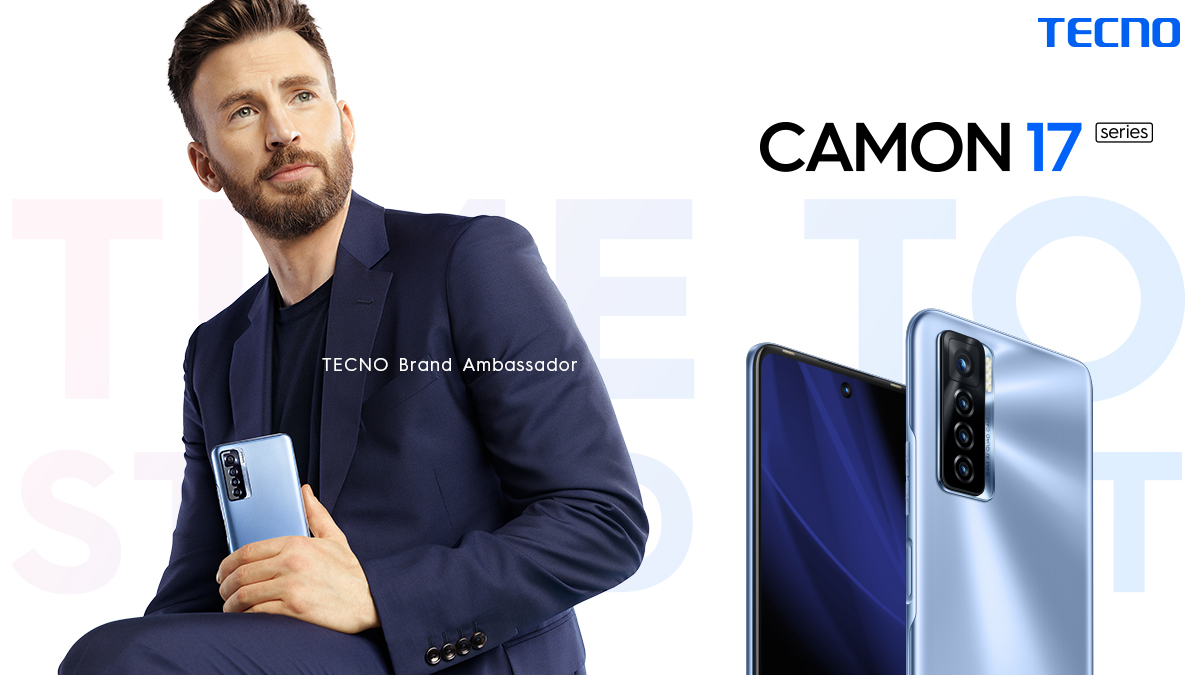 Hollywood Superstar Chris Evans Joins the TECNO Train; Signs on as Brand Ambassador