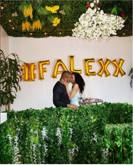 Alex Ekubo announces his engagement to longtime girlfriend, Fancy Acholonu?