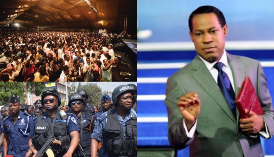 Christ Embassy under investigation for allegedly holding a crowded event in Ghana