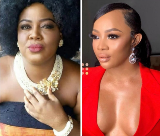 """""""A woman that has money without a man by her side as husband is worth nothing"""" Actress Uche Ebere shades Toke Makinwa after she tweeted about craving love"""