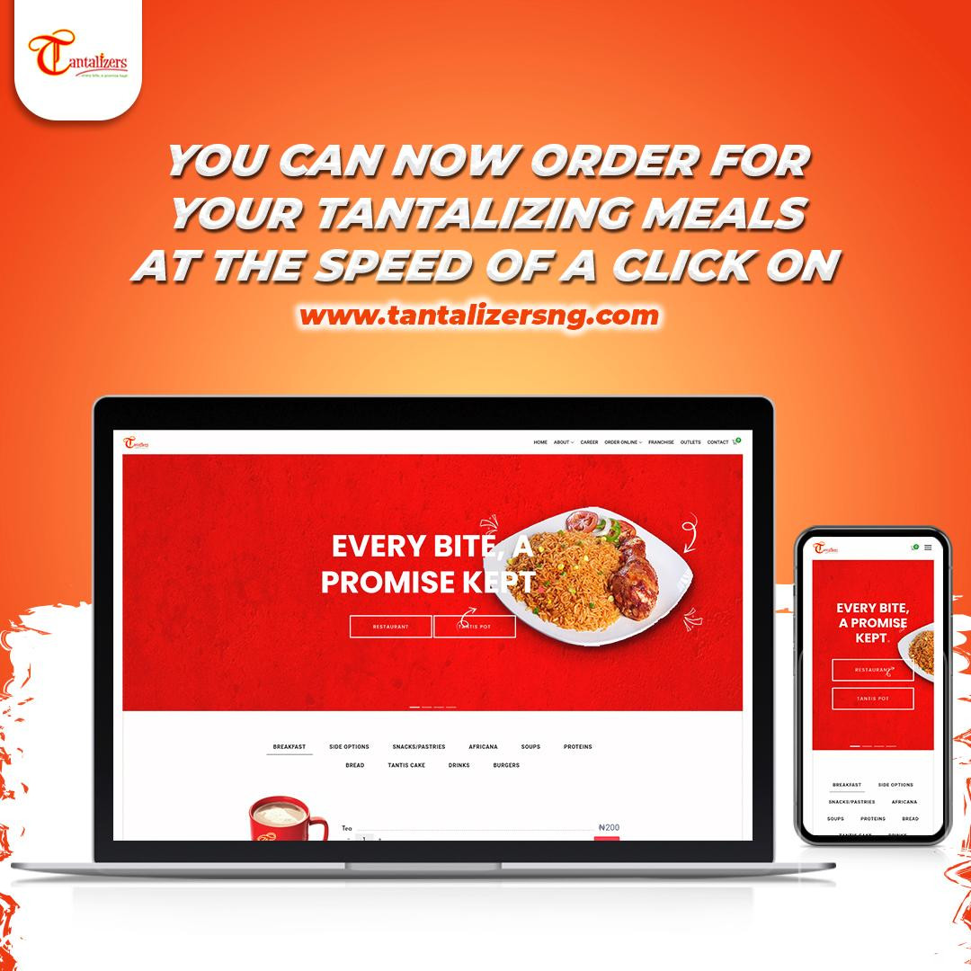 Tantalizers Widens Customer Contact Channels  ?Launches e-Commerce Website for service delivery