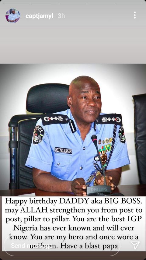 """""""You are the best IGP Nigeria has ever known and will ever know"""" - Dangote"""