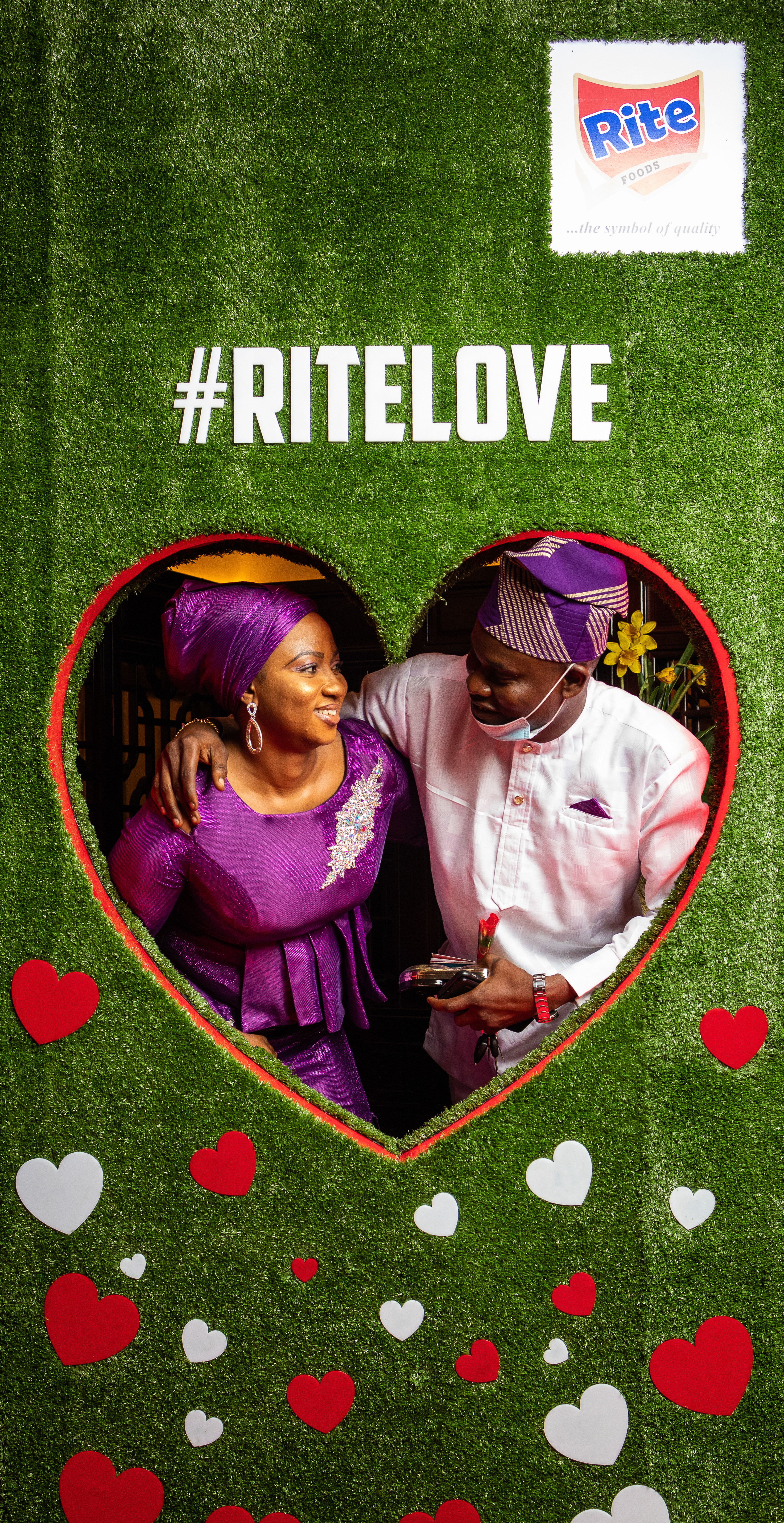 Rite Foods shares in the 2021 Valentine