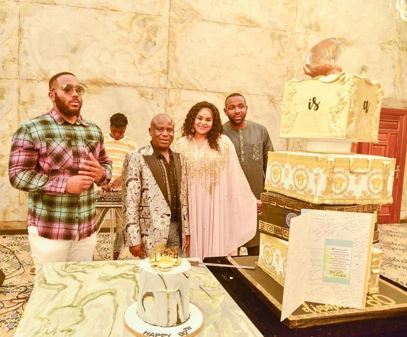 More photos from the 60th birthday party of reality TV star, Kiddwaya
