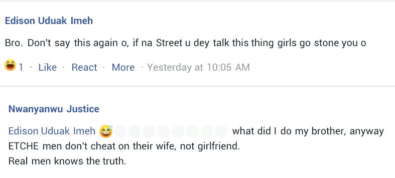 Nigerian man claims