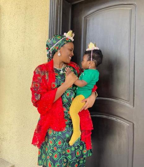 Former Emir of Kano, Sanusi Lamido Sanusi and 4th wife celebrate their daughter