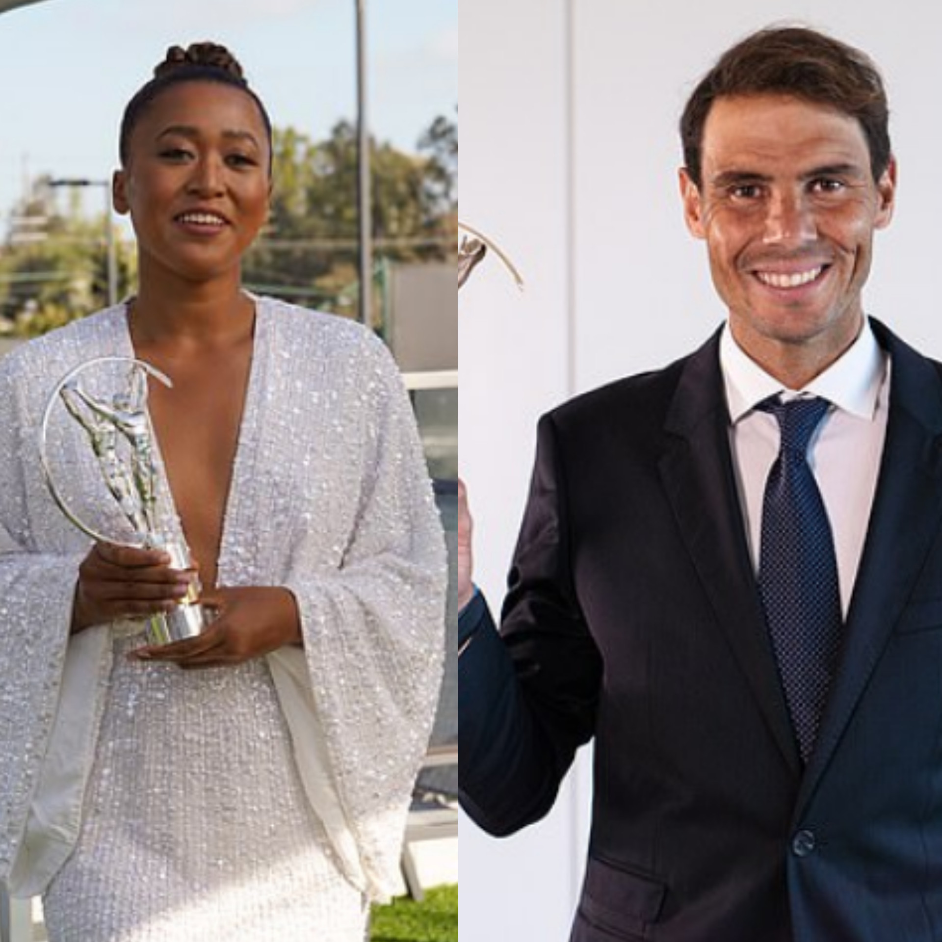 Rafael Nadal and Naomi Osaka win Laureus World Sports man/woman of the year (Full Awards list + photos)