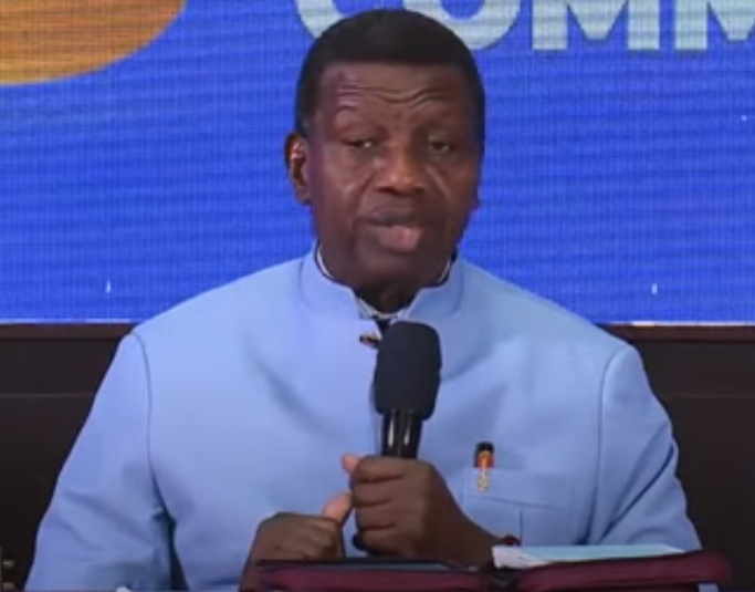 Pastor Adeboye makes his first public appearance after the demise of his son,  Pastor Dare (video)